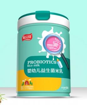 钙铁锌益生菌米乳圆听