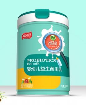 高铁婴幼儿益生菌米乳