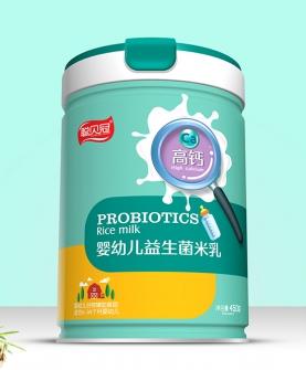 高钙婴幼儿益生菌米乳