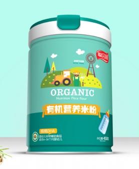 核桃DHA有机营养米粉