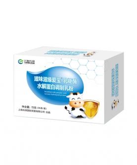 乳糖酶水解蛋白调制乳粉