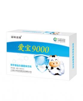 9000铁锌镁益生菌固体饮料