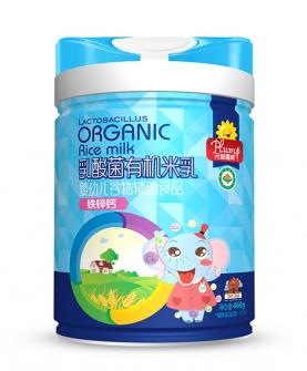 乳酸菌有机米乳-铁锌钙