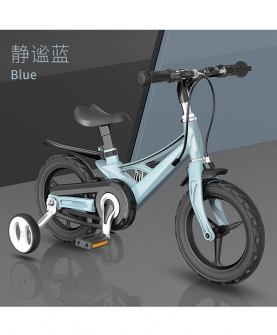 镁合金一体车架儿童自行车 MT702
