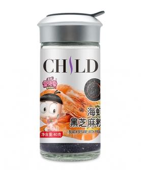 黑芝麻海虾粉