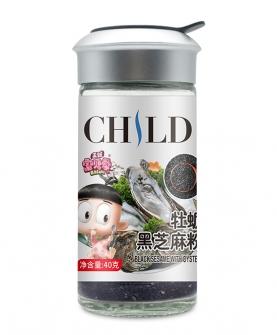黑芝麻牡蛎粉