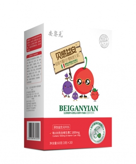 接骨木莓针叶维C调制乳粉竖