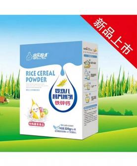 婴幼儿营养米乳-铁锌钙盒