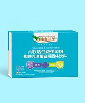 六联活性益生菌粉加铁乳清蛋白粉固体饮料