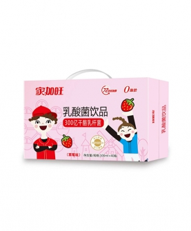 乳酸菌饮品草莓味