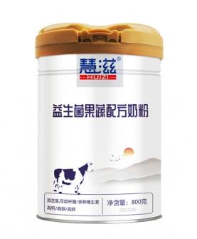 益生菌果蔬配方奶粉 800克