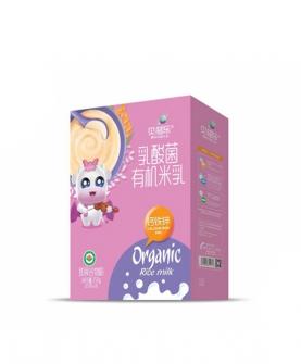 乳酸菌有机米乳-钙铁锌 盒装