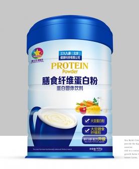 膳食纤维蛋白粉固体饮料