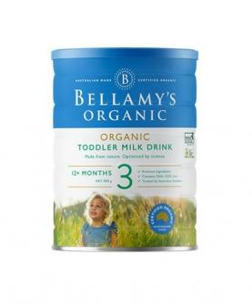 澳洲贝拉米有机奶粉3段900g