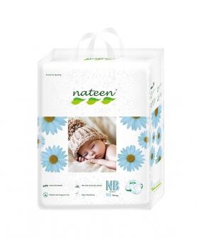比利时那特恩新自然风婴儿纸尿裤大包装 NB码80片