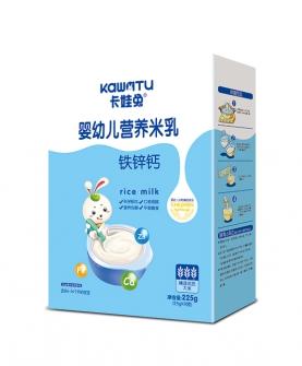 铁锌钙婴幼儿营养米乳