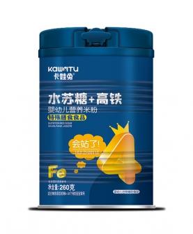 水苏糖+高铁婴幼儿营养米粉