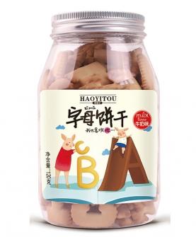 字母饼干 牛奶味120g