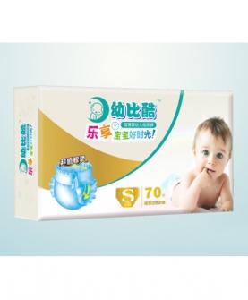 超薄婴幼儿纸尿裤S70片
