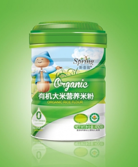 有机大米营养米粉