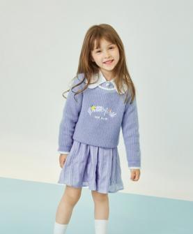 2020秋冬紫色时尚毛衣