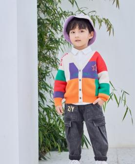 新品彩色时尚外套