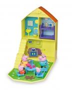 小猪佩奇上楼梯欢乐房屋