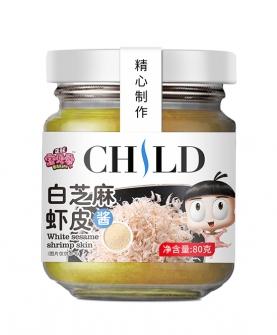 白芝麻虾皮酱