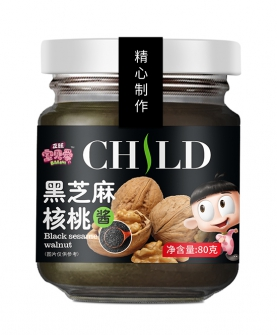 黑芝麻核桃酱