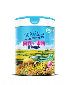 高铁+果蔬营养米粉