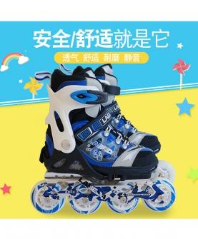 儿童轮滑溜冰鞋