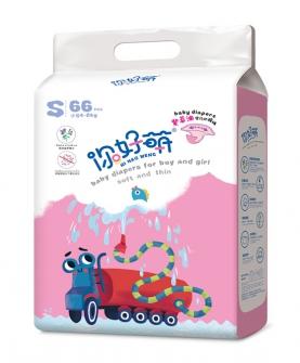 紫草油婴儿环腰裤 S66