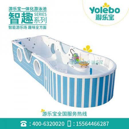 宁夏益智宝宝儿童游泳池水育早教游泳训练专用游泳池