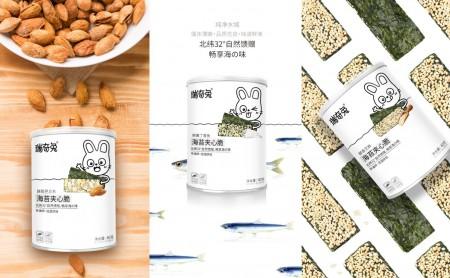 瑞奇兔®夹心海苔火爆招商~~