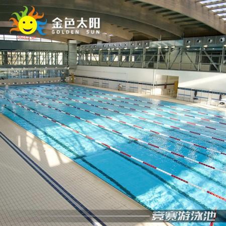 重庆半标大型恒温游泳池游力安游泳池厂家生产工厂