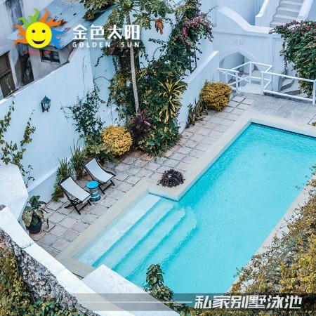 湖南室内游泳健身设备-游力安钢结构泳池-无边际泳池