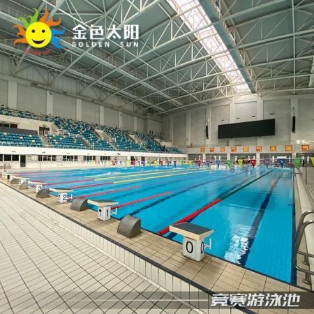 安徽拼装无边际游泳池-室内钢结构泳池-组装式成人泳池