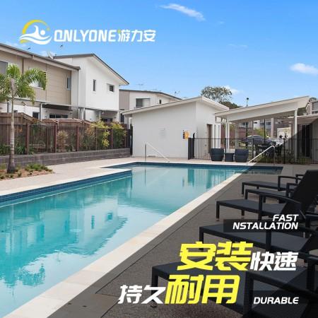 北京组装拼接泳池设备-钢结构室内泳池-无边际家庭游泳池