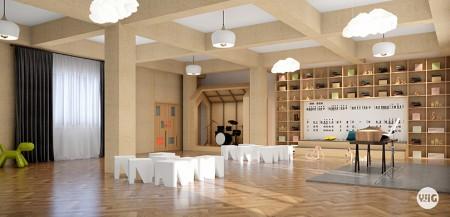 西安一格良创托育中心室内设计需求