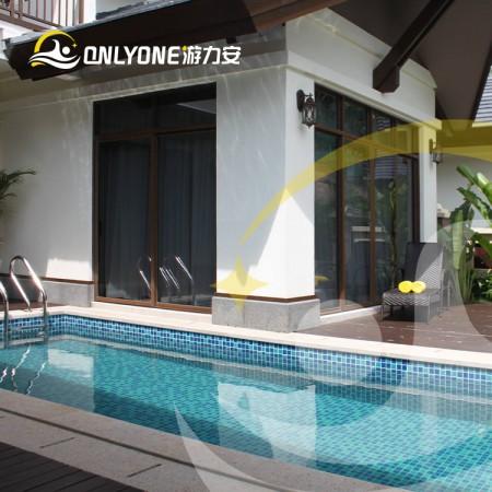 宁夏钢结构私家游泳池-胶膜内胆钢结构泳池厂家直销