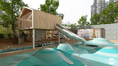 一格良创 西安幼儿园景观设计